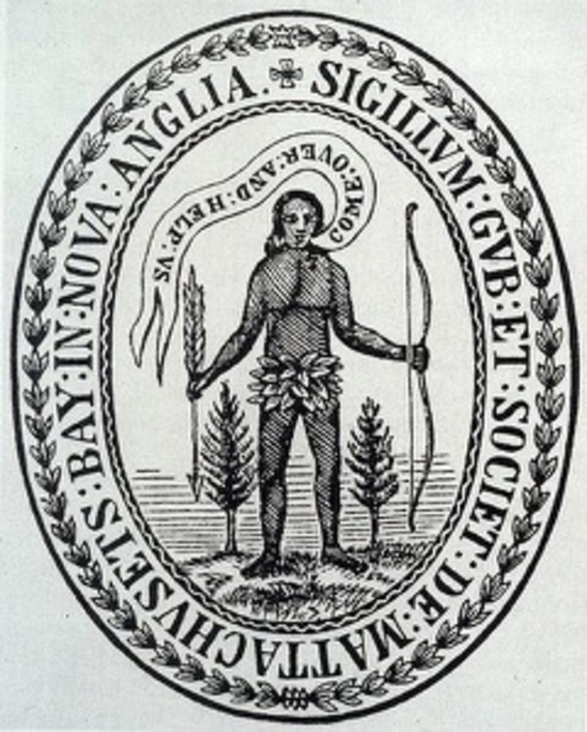 Massachusetts Bay Colony Seal, 1629.