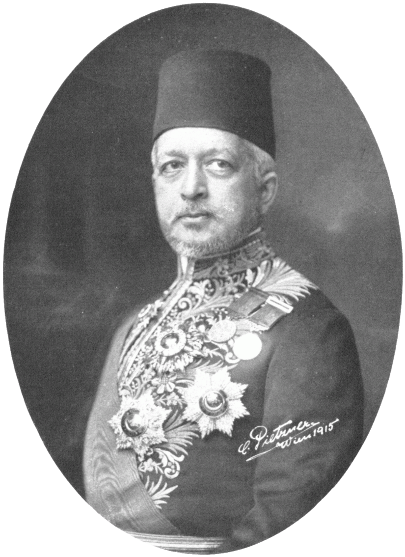 Said Halim Pasha as Grand Vizier. Carl Pietzner. 1915. Courtesy of: Österreichische Nationalbibliothek.